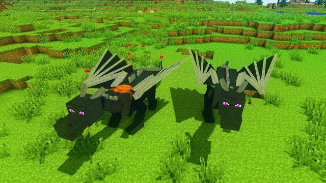 Мод на Драконов на Майнкрафт 1.8.8 скачать