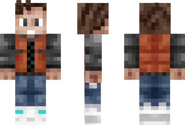 Marty mcfly skin for minecraft the minecraft wiki for Skin it fish skinner