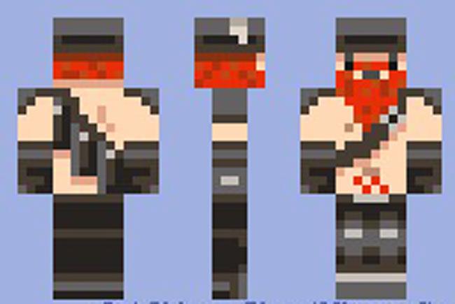Скин Стив с бородой Minecraft - mineisone.ru